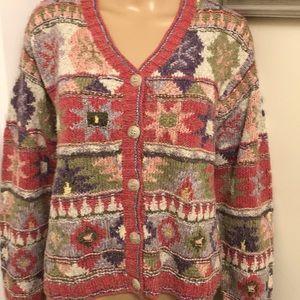 NWT Susan Bristol Sweater Cardigan. Size: Medium